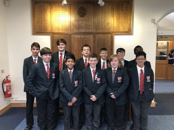 Year 8 and 9 Gifted and Talented Study Day at King's School - Chester